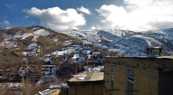 روستای کنگ در حوالی شهر مشهد
