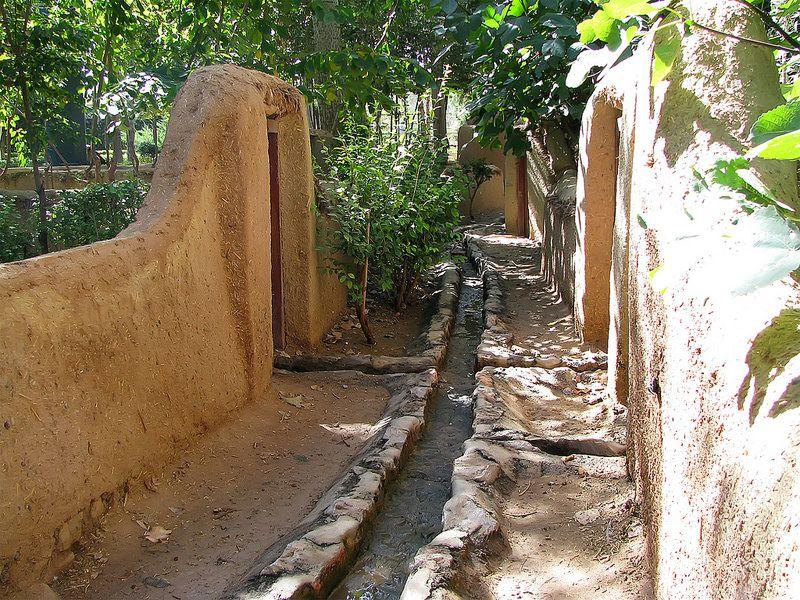 کوچه باغهای دلنواز در سراسر شهر خوانسار