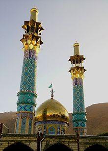 بقعۀ امامزاده سید احمد یا شاهزاده احمد در شهر خوانسار