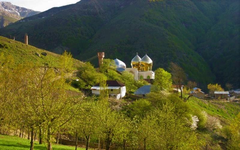 روستای شیخ موسی یا ییلاق مازنیها در استان مازندران