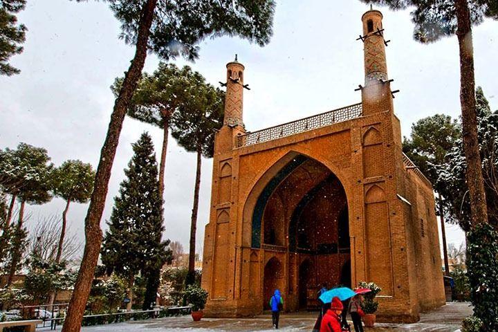 منارجنبان در شهر اصفهان
