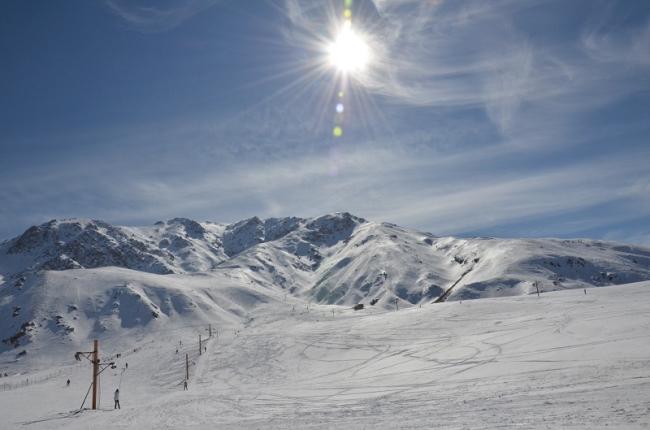 پیست اسکی پیام در استان آذربایجان شرقی