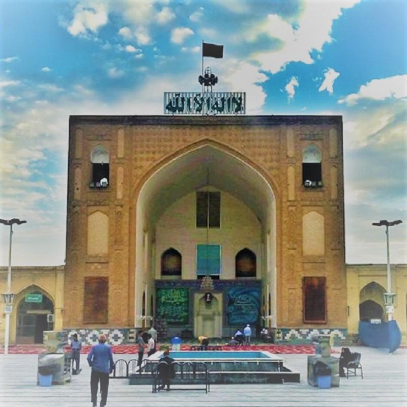مسجد جامع در شهر نیشابور