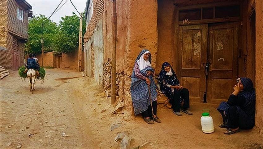 دهسرخ روستایی تماشایی در حوالی شهر مشهد