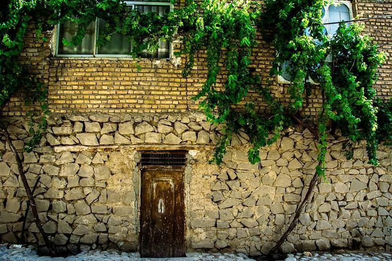 خانهای زیبا در روستای وردیج