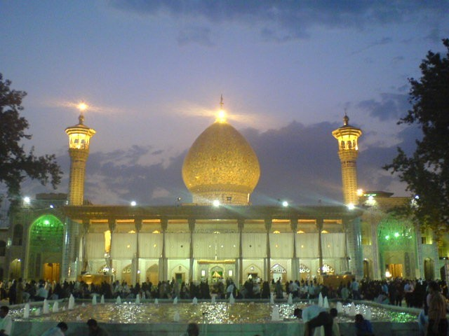 بارگاه شاه چراغ در شیراز