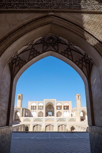 مسجد آقابزرگ -  کاشان
