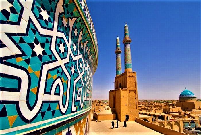 مسجد جامع یزد ؛ مظهر شکوه و اصالت معماری ایرانی
