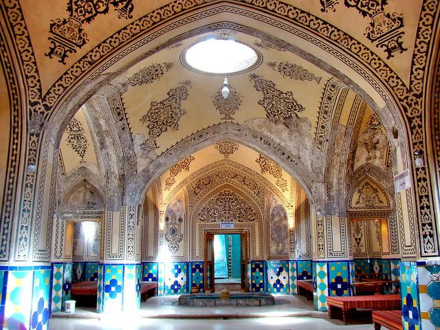 حمام تاریخی سلطان میر احمد - کاشان