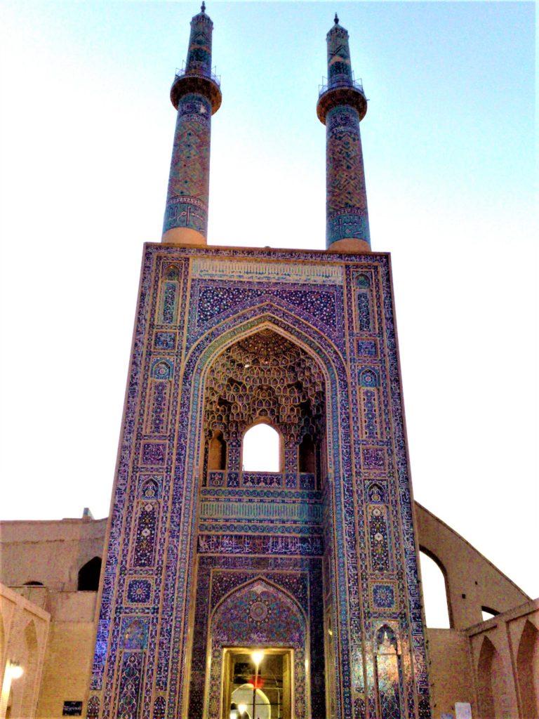 مسجد جامع در شهر یزد، نمونۀ اعلای شاهکار معماری ایرانی اسلامی