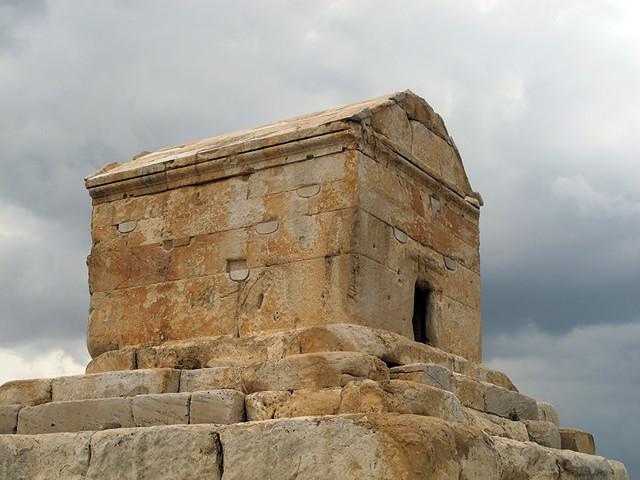 مقبره کوروش در پاسارگاد