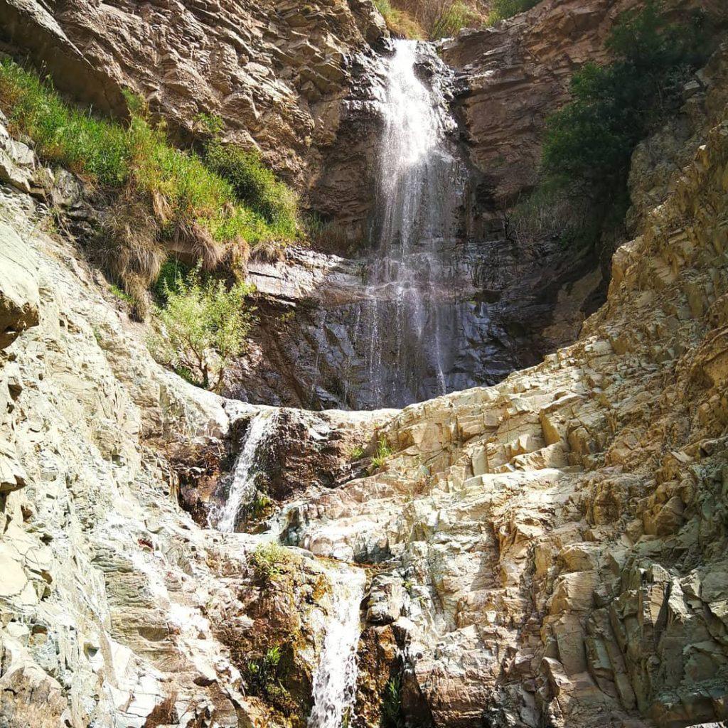 آبشار لتمال در نزدیکی روستای وردیج