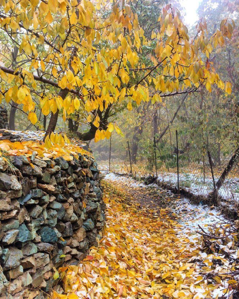 پاییز زیبای روستای واریش