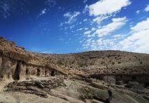 روستای دستکند میمند در کرمان