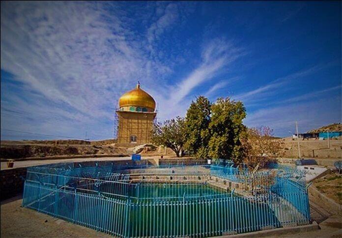 چشمه آبگرم می اندشت یا ایوب نبی در بجنورد