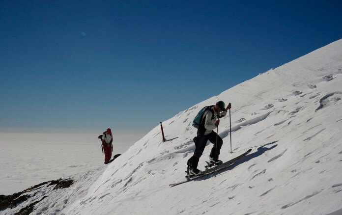 پیست اسکی شیرباد مشهد
