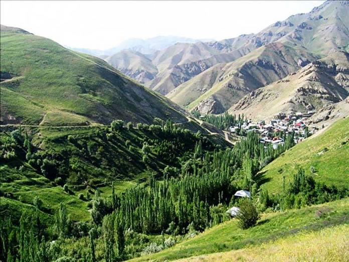 روستای اورازان ، روستاهای طالقان