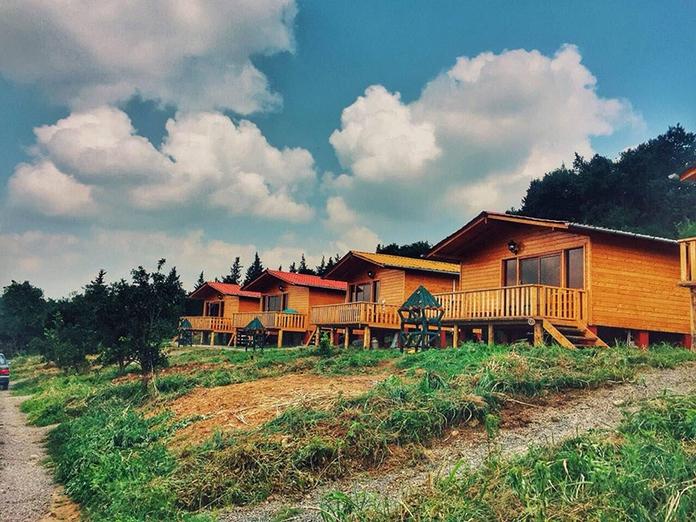 اقامتگاه بوم گردی مازندران کلبه چوبی الیزه سوادکوه