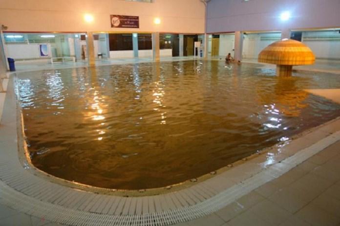 چشمه آب گرم لاویج بهترین منطقه چمستان