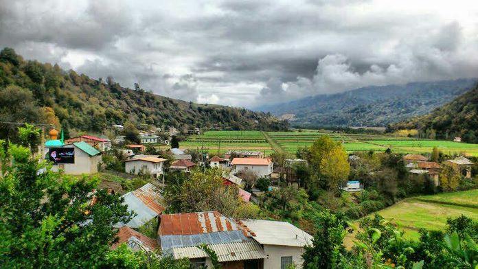 روستای جوربند بهترین منطقه چمستان
